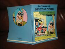 LES MESAVENTURES DE MODESTE ET POMPON N°5 - EDITION ORIGINALE MAGIC STRIP 1980