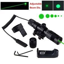 500 Yards Green Dot Laser Sight Adjustable Green Laser Designator Mount Battery