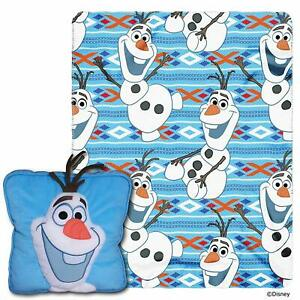 """Disney's Frozen, """"All About Olaf"""" 3D Pillow and Throw Set, 40"""" x 50"""""""