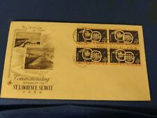 Scott #1131 4 Cent Plate Block Stamps Commemorating The Opening Of The St....