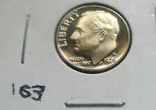 1978-S ROOSEVELT DIME, PROOF CONDITION FROM A PROOF SET. HIGH GRADE. (163)