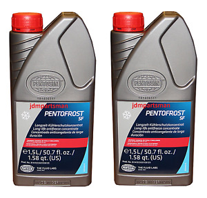 Pack of 2  Pentofrost SF G12 Coolant Antifreeze Made in Germany 8114107