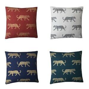 Hand made Leopard Cheetah jungle Rainforest animal cushion cover various sizes