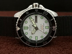 VINTAGE PRE-OWNED CITIZEN 4-824199 Y AUTOMATIC MENS WATCH 670308 GN-4-S