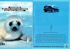 PUBLICITE ADVERTISING 026  1995  RENAULT  Mégane  ( 2p)