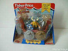 Fisher-Price Vintage / Figurine Viking's Fury 77007 [New-Sealed] / 1996