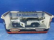 Matchbox 1940 Ford Sedan Delivery police van 1:18 Scale Diecast Truck