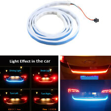 1x Flowing LED Strip White/Red/Yellow/Blue Car Rear Tail Light LED 120cm/47.6in