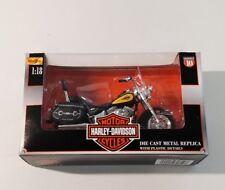 2000 Maisto Harley Davidson 1:18 NIB Die Cast FLSTC  Heritage softail Series 10
