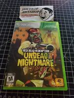 (REPLACEMENT CASE ONLY) UNDEAD NIGHTMARE RED DEAD REDEMPTION XBOX 360 (NO GAME)