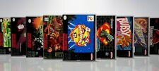 CUSTOM - SNES - Cases and Cover - Titles #G-J   / !! NO GAMES !! /