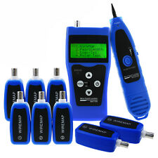 Network Ethernet Lan Phone Tester Wire Tracker Usb Coaxial Cable 8 Far End Jacks