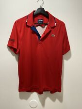 Lacoste Sport Polo Red Size 4 M