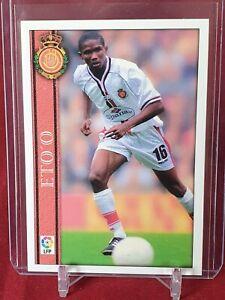 Samuel Eto'o Mallorca Mundicromo Liga 2000 / 2001 Card