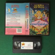 VHS Stardust CENERENTOLA + SCARPETTE ROSSE + GNOMI (ITA 1992) D 18110 Favole