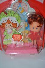THQ vintage Strawberry Shortcake doll Berry Sweet Sleepover Sleeper NRFC HTF 91