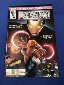 Iron Age#3 Featuring Dazzler HTF Newsstand Uncanny X-Men Marvel Comics 2011 NM+