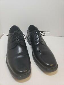 NEW! Croft & Barrow Men's Ortholite Oxford Dress Shoes Nash Black #119701 Sz 11