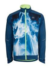 Abbigliamento blu in poliestere per ciclismo Uomo