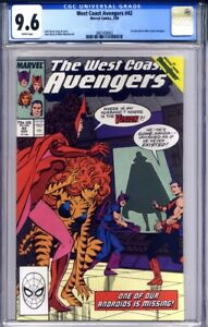 WEST COAST AVENGERS #42 CGC 9.6 (1st John Byrne on title) WandaVision