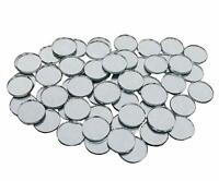 Small Craft Mirrors Wall Home Decor Round Shape Glass 234 Pcs Combo COMMR05-A