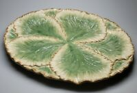 """Fitz and Floyd BELLE CLASSIQUE Cabbage Leaf Oval Serving Platter 17"""" x 13"""""""