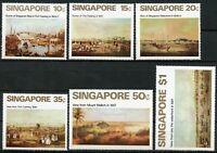 SINGAPORE PAINTINGS SCOTT# 144/49  MINT NEVER HINGED --SCOTT VALUE $55.00
