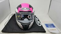 HJC CL-17 OMNI MC8SF MOTORCYCLE HELMET LARGE