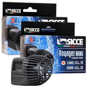 Voyager Nano Stream Pumps Power Head Wave Maker 1000 / 2000 Marine Reef Aquarium
