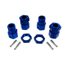 Redcat Racing 050030 23mm Blue Aluminum Wheel Hex & Nut 4P Set for Rampage MT TT