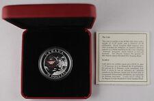 Canada $20 2004 National Wonders 1 Oz Silver Diamonds Hologram Proof Coin +OGP