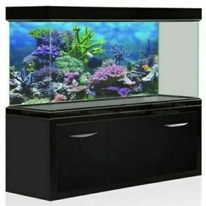 Underwater 4 Styles Aquarium Background Poster Fish Tank Wall Decoration Sticker