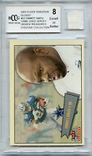 2001 FLEER TRADITION GLOSSY #22 EMMITT SMITH JERSEY, COWBOYS - BCCG 8 (18106)