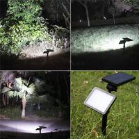 48LED Outdoor Solar Power Spotlight Garden Lawn Landscape LampLights Waterproof