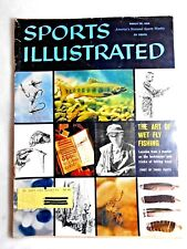 VINTAGE Sports Illustrated Fly Fishing  March 28, 1960