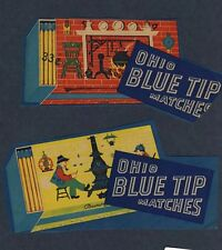 Ohio Blue Tip Kitchen Matches Labels Country Store, Hearth - Item #4092