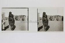 Egypte Afrique Plaque verre Positif N° 42 Stéréo Stereoview Vintage