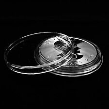 100 Airtite Coin Holders Capsules for Canadian 1 oz Silver Maple Leaf 38mm