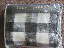 RALPH LAUREN WINTER COTTAGE BUFFALO SHAM