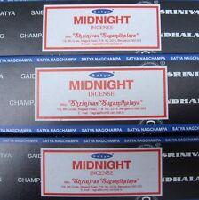 Satya Sai Baba Midnight Nag Champa 100G Grams Incense Sticks FAST FREE SHIP