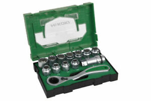 HiKOKI/Hitachi - Steckschlüsseleinsatz Set 13tlg. Box III 40030033 - 7332510 AV