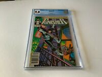 PUNISHER 1 CGC 9.8 WHITE PAGES NEWSSTAND NEWS STAND VARIANT MARVEL COMICS 1987