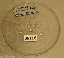Drehteller für Microwelle No Name, 29,0 cm, Stern ohne Ring, 800 00-06(10 08116)