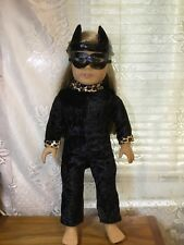 New 18� Inch Doll Black Cat Costume Will Fit American Girl Our Generation & more