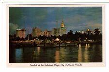 Postcard: Eventide at the Fabulous Magic City of Miami, Florida, USA