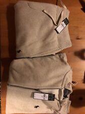 New Ralph Lauren Polo Sweat Suit Complete Suit Zip Hoodie Draw String Joggers