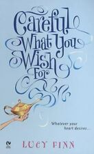 CAREFUL WHAT YOU WISH FOR by Lucy Finn ~ Combined Shipping PARANORMAL ROMANCE