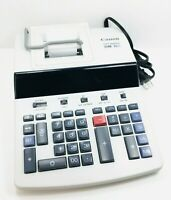 Canon CP1200DII 12 Digit Commercial Desktop Printing Calculator - Used, Works