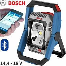 Bosch GLI 18V-1900C Bluetooth Akku LED Lampe 14,4-18V SOLO Bau Strahler IP64 NEU