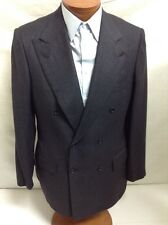 New KITON Napoli D.Breasted Dk.Gray Cashmere Suit 52R / US 42R - W37 $9000.